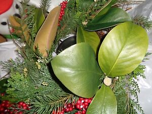 Pottery Barn Holiday Berry Candle Ring Centerpiece Christmas Pillar New Ebay