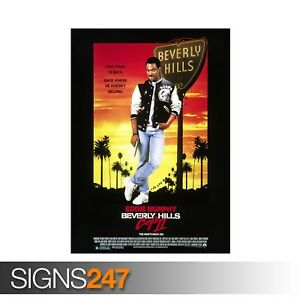 BEVERLY-HILLS-COP-2-ZZ049-MOVIE-POSTER-Photo-Poster-Print-Art-All-Sizes