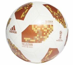 sports shoes 82c32 ed50b Image is loading adidas-WC-World-Cup-2018-Telstar-18-Glider-