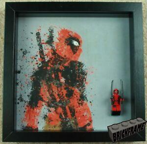 Deadpool LEGO/® Minifigure Picture Frame
