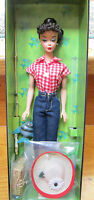 2005 Barbie Doll+fashion Reproduction Of 1959 Picnic Set967gold Label