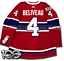 JEAN-BELIVEAU-MONTREAL-CANADIENS-HOME-AUTHENTIC-PRO-ADIDAS-NHL-JERSEY miniature 6