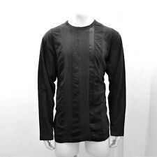 NEW Comme des Garçons Black Top with Stitch Pattern GENUINE RRP: £180 - Size: XL