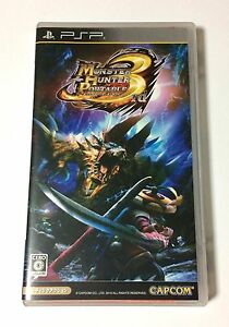 USED-PSP-Monster-Hunter-Portable-3rd-w-o-Manual-JAPAN-Sony-PlayStation-Portable