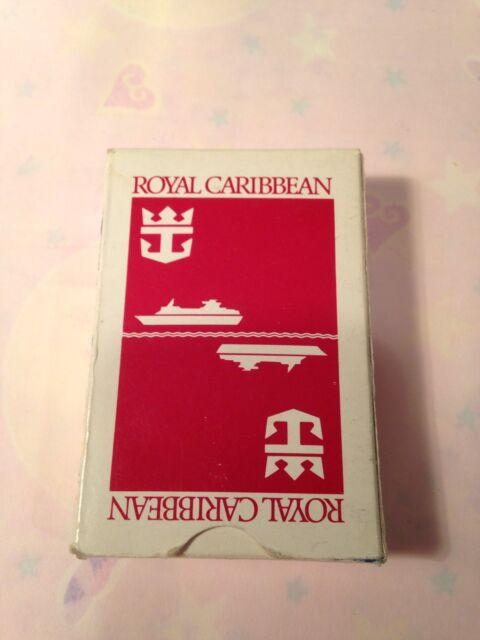 ROYAL CARIBBEAN PLAYING CARDS