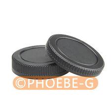Lens Rear cap + Camera body cap for Micro 4/3 GF1 E-P2
