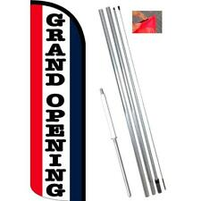 Grand Opening National Windless Style Feather Flag Bundle 14 Or Replacement F