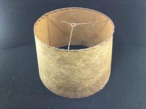 VINTAGE-ATOMIC-AGE-ORIGINAL-FIBERGLASS-LAMP-SHADE-MID-CENTURY-RETRO
