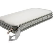 80 Disc CD DVD Portable Wallet Storage Organizer Holder Case Bag Album Box White