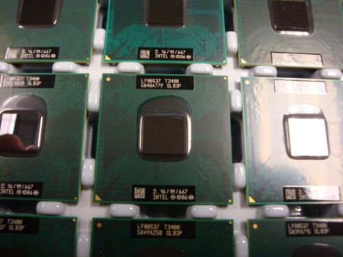 New Intel Dual Core T3400 2.16G 1MB 667 SLB3P Socket P CPU