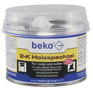 2-K-Holz-und-Metallspachtel-Feinspachtel-Spachtelmasse-1-0-kg-inkl-Haerter