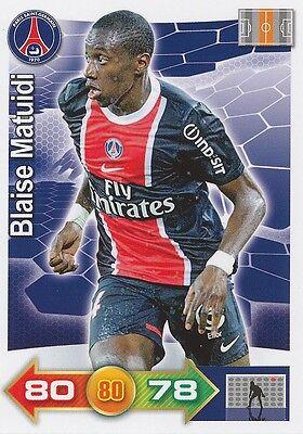 BLAISE MATUIDI # PARIS.SG PSG CARD PANINI ADRENALYN 2012