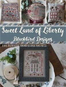 Sweet-Land-of-Liberty-24-Page-Booklet-5-Projects-Blackbird-Designs-New
