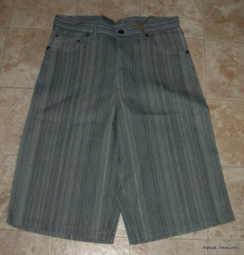 NEW NWT Trendy Mens or Teen Boys 34 X 15 Long Denim Urban Shorts BROOKLYN XPRESS