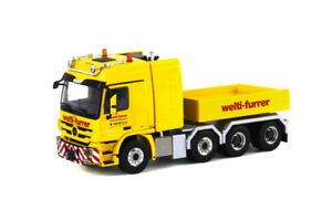 Wsi Models 01-1018 Mercedes Benz Actros Mp3l Tracteur 8x4 Leste   Wsi Models 01-1018 Mercedes Benz Actros Mp3l Tracteur 8x4 Leste