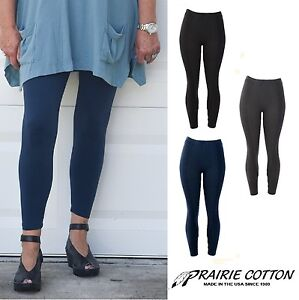 PRAIRIE-COTTON-USA-7409-STRETCH-ANKLE-LEGGINGS-Legging-S-M-L-XL-XXL-SPRING-2018