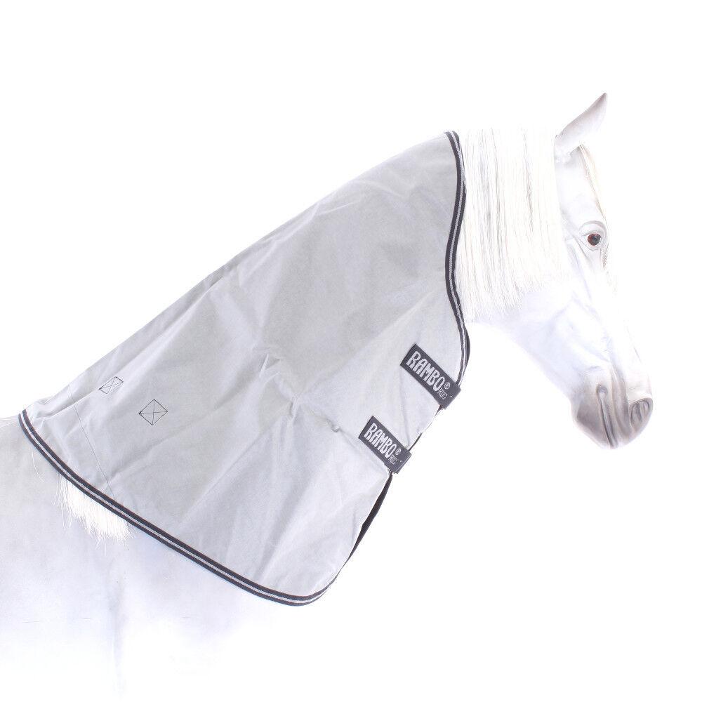 Horseware Rambo original Hood 150g-gris  Navy-cuello parte  ahorra hasta un 30-50% de descuento
