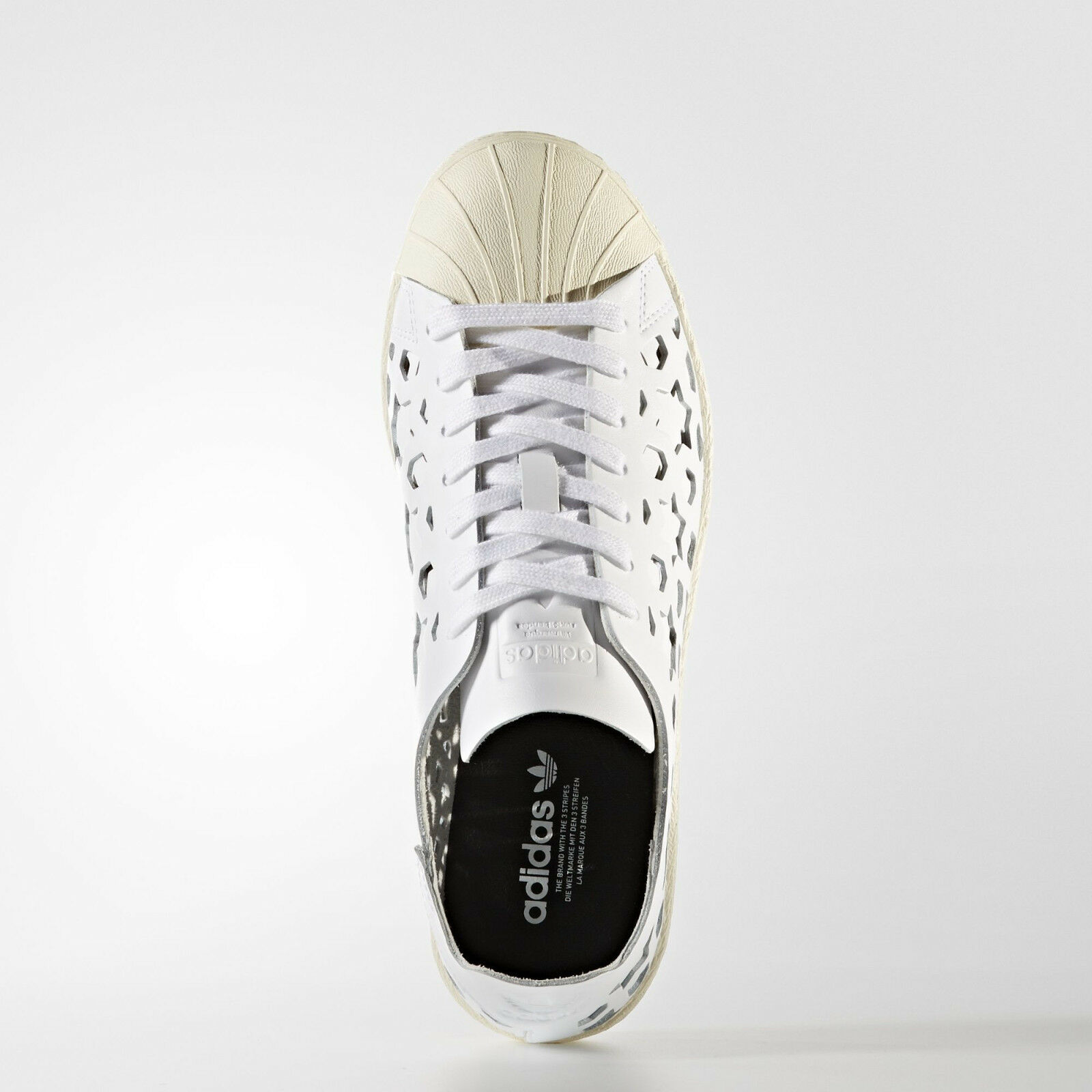f10c57ab9 ... nib~Adidas Original SUPERSTAR 80s CUT CUT CUT OUT LEATHER Campus honey  Shoe~Women ...