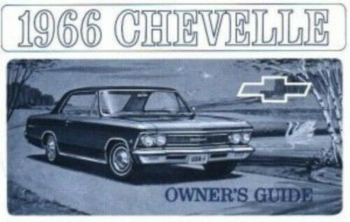 Chevelle & El Camino 1966 Owner's Manual 66