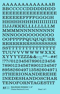 K4-O-Decals-Black-1-4-Inch-Railroad-Roman-Letter-Number-Alphabet-Set
