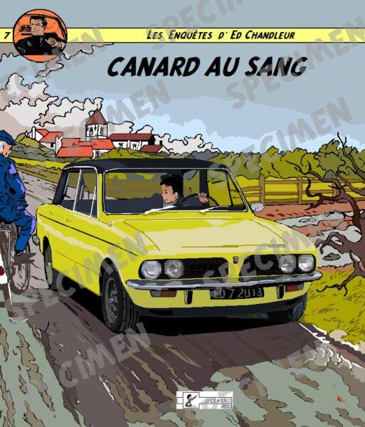 """""""canard Au Sang"""" Dessin (9 Ex Disponibles) Triumph Dolomite Style Bd Par Jiceher"""