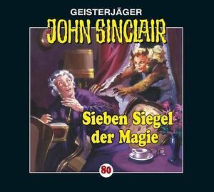 Preisalarm-HORSPIEL-CD-JOHN-SINCLAIR-034-Sieben-Siegel-der-Magie-034-80-NEU-OVP