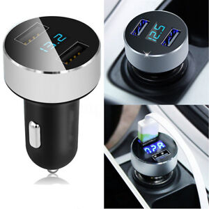 Adapter Fast Charging Dual USB Car Charger 3.1A  For iPhone Samsung Smart Phone