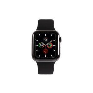 Apple Watch Series 5 Edelstahl 44 mm / GPS + LTE / Wie neu