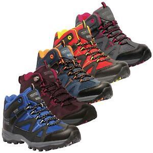 02cd7772a0c Details about Regatta Gatlin Kids Waterproof Mid Walking Boots