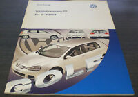VW Golf 5 V Typ 1 K Selbststudienprogramm  SSP 318 Technischer Stand   2003