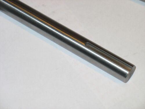 "Steel Shaft Keyed 1//4/""both ends 1/"" Dia Rod  18/"" Long."