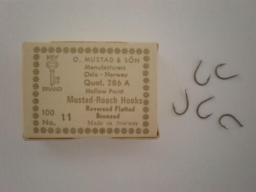 MUSTAD 100 AMI 286 A ROACH HOOKS SERIES