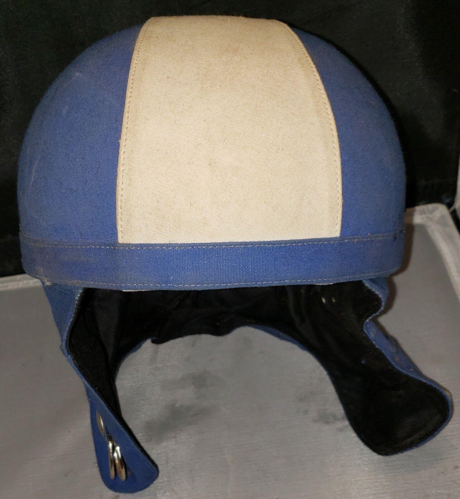 Rare 1967Gant Gamet-Genoski Ski HelmetMont whiteCo. No.600  New without tags