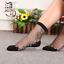 Women-Transparent-Thin-Roses-Flower-Lace-Socks-Crystal-Glass-Silk-Short-Socks miniature 22