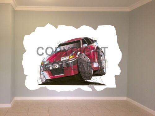 Huge Koolart Cartoon Austin Rover Vitesse Sd1 Wall Sticker Poster Mural 1344