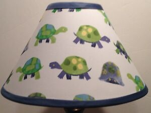 Image Is Loading Turtles Fabric Nursery Lamp Shade M2m Pottery Barn
