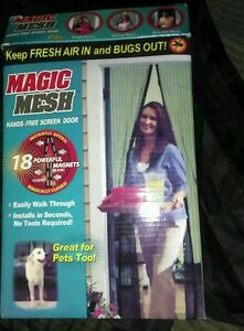 Black Magic mesh curtain - Mansfield, United Kingdom - Black Magic mesh curtain - Mansfield, United Kingdom