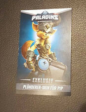 Paladins Exclusiv Gamescom PIP Skin Code (Gamescom 2016)