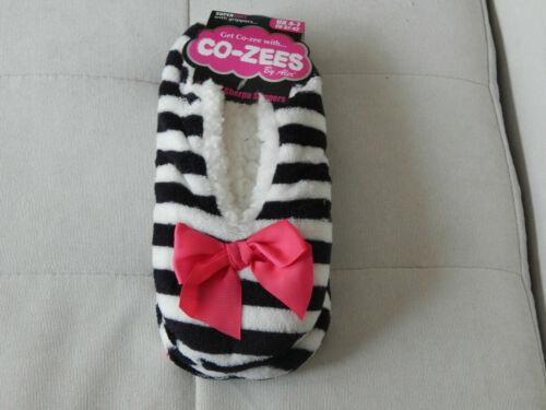 Ladies Luxury Sherpa Fleece Lined Gripper Sole Slippers by Co-Zees