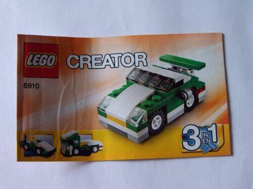 Instruction Nr LEGO® Bauanleitung 6910