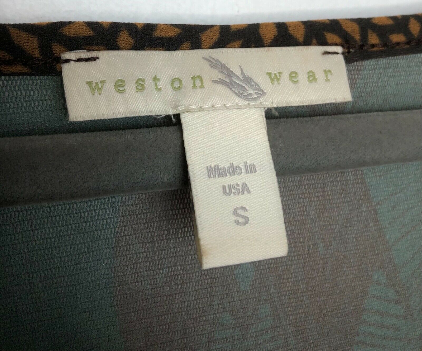 WESTON WEAR Womens Size Small Nylon Shirt Sheer M… - image 4