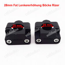 28mm Fat Lenkererhöhung Böcke Rizer Lenker Adapter für Quad ATV Dirt Pit Bike