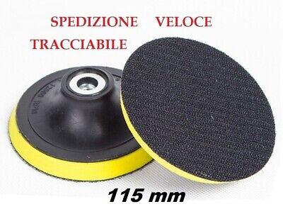 PLATORELLO VELCRATO DIAMETRO 115 mm