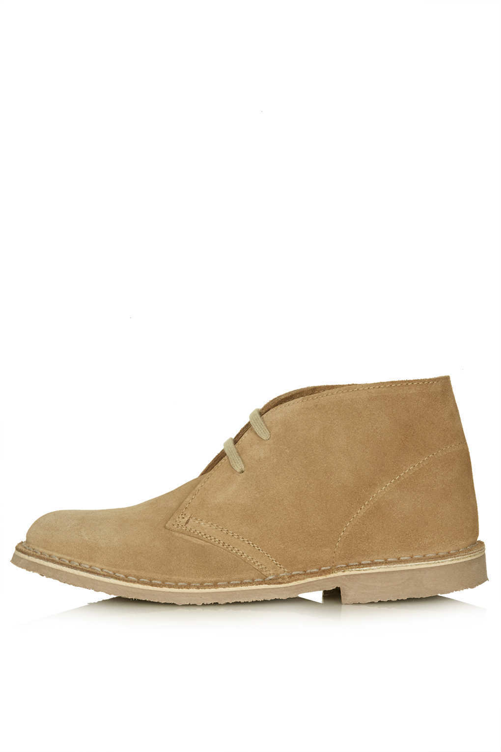 TOPSHOP BEACHY desert boots in Camel - New without box
