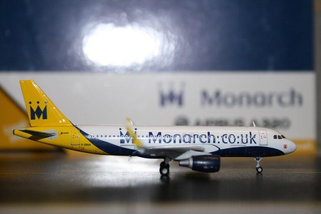 Gemini Jets 1 400 Monarch Airlines Airbus A320-200 G-ZBAA (GJMON1430) Die-Cast