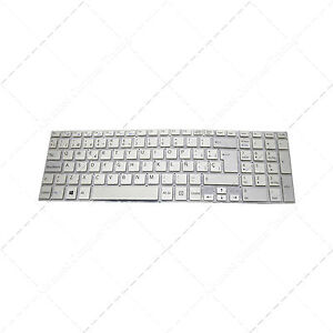 Teclado-para-portatil-Espanol-Sony-Vaio-SVF1521B4EW-Silver-Plata