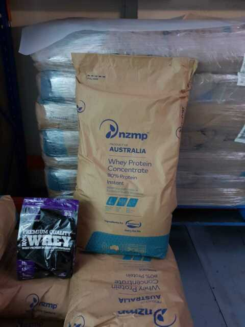 Whey Protein Concentrate Powder WPC  20KG Fonterra