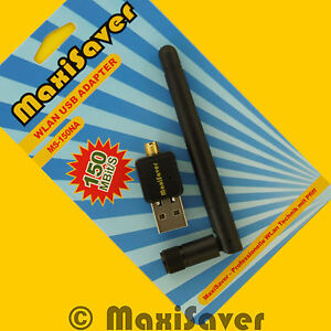 150MBit-N-USB-WLAN-STICK-ANTENNE-auch-fuer-AVM-Fritz-Box-Fritz-Speedport-amp-mehr