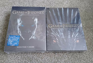 Game-of-Thrones-season-7-amp-8-DVD-Region-1-Box-Set-Seventh-Eighth-Brand-New