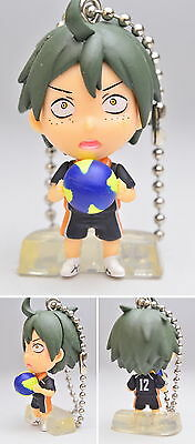 Haikyu Vol 2 Deformed Mini Key Chain Figure Tanaka Ryuunosuke Takara Haikyuu!
